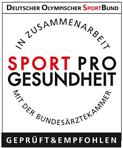 """Zertifikat """"Sport Pro Gesundheit"""""""